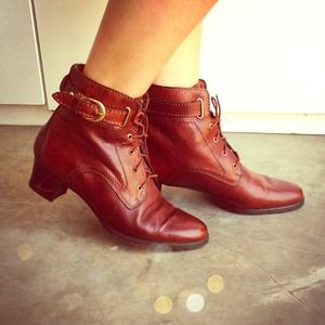 Andre Carlini Shoes - Italian Leather Ankle Boots