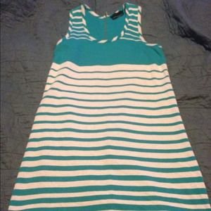 Cynthia Rowley Striped Dress w/ zipper back NWOT