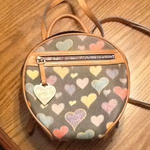 Dooney and Bourke Heart Backpack