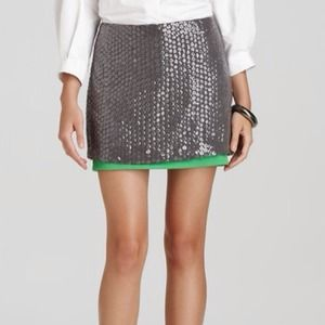 DVF Sequin Skirt
