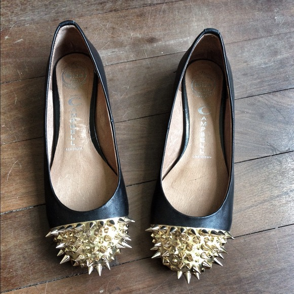 cfd613bbd5ecec Jeffrey Campbell Shoes - Jefferey Campbell Margo spiked flats