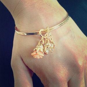 Jewelry - Charmed bangle bracelet