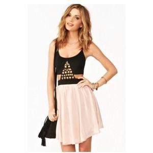 Nastygal pyramid dress