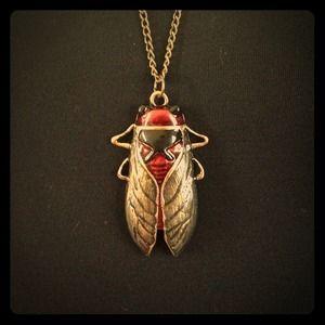 Jewelry - Cicada necklace