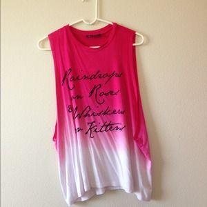 Tops - Pink ombré shirt !