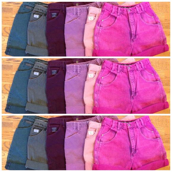 Wrangler - COLORED HIGH WAISTED SHORTS from Christine's closet on ...