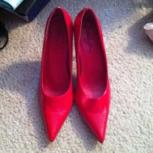Shoes - 🎉Sale🎉 Red heels-sold on vinted