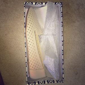 Gojane perforated loafers