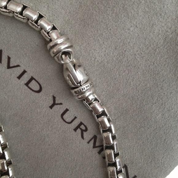 david yurman accessories david yurman mens 52mm box chain bracelet