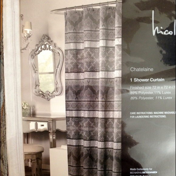 Nicole Miller Chatelaine 72 X Shower Curtain