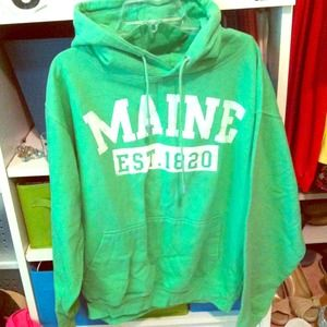 Maine sweatshirt!