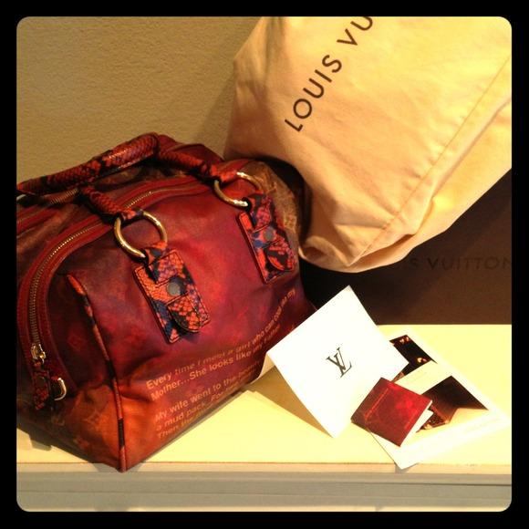 Louis Vuitton Bags Mancrazy Jokes Richard Prince Ltd Ed Poshmark