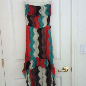 Dresses & Skirts - Maxi Chevron Dress