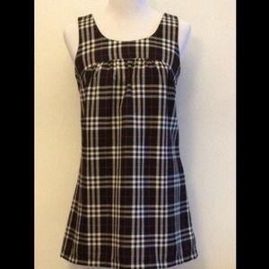 Plaid mini dress  ** reduced**