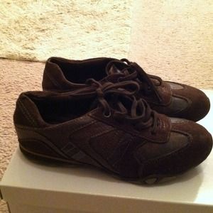 Dark Brown tennis  shoes size 6.5