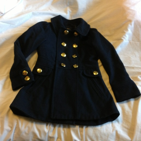 78% off GAP Other - Gap Kids Navy Pea Coat from Angelica's closet ...
