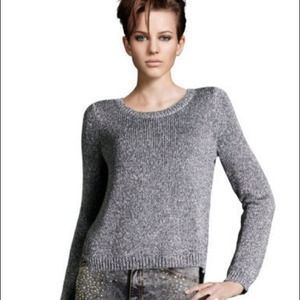 Metallic color sweatshirt by H&M