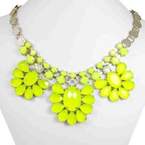 Necklace Yellow neon