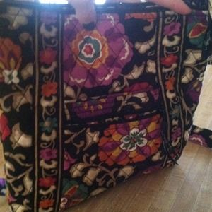 VERA BRADLEY suzani large cross body!!