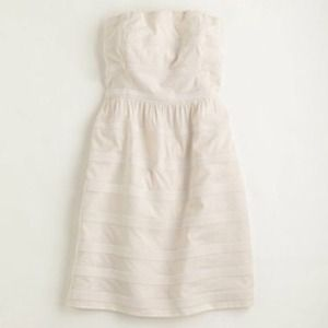 White J. Crew Ginny dress