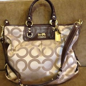 REDUCEDAuth Coach Large Madison Julianne Bag