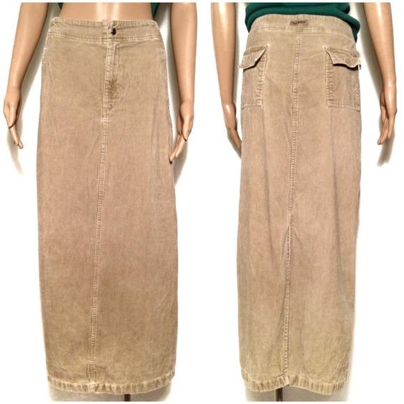 92% off Eddie Bauer Dresses & Skirts - 💛EDDIE BAUER Long Tan ...