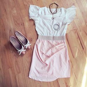 🍧 White&Pink dress 🌸