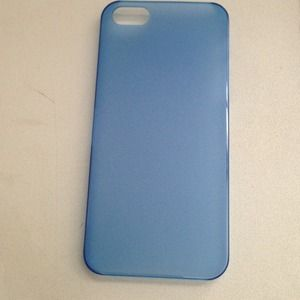 Other - Blue I phone 5 cover