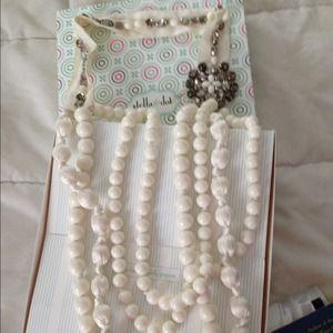 Stella & Dot Jewelry - Stella & Dot St. Tropez Ivory necklace