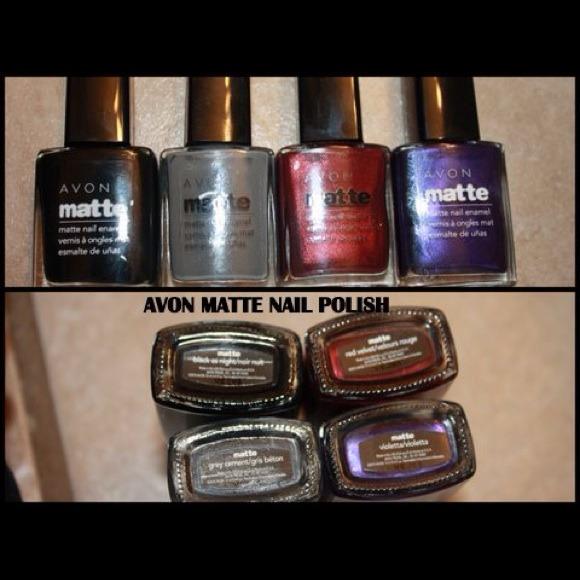 avon Accessories | Soldmatte Nail Polishsold | Poshmark