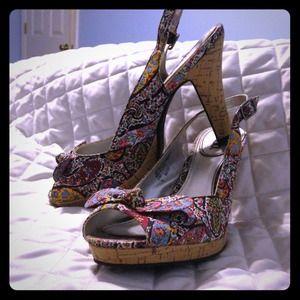 Bongo Cork heels