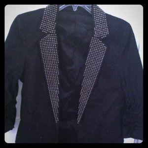 Black studded express blazer!