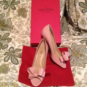 Just sharing! My wedding shoes! Valentino! Xoxo