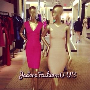 Authentic Elise Herve Leger Dress XS $1,050