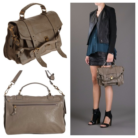 Proenza Schouler Handbags - ✨PS1 Med leather smoke satchel✨ 2