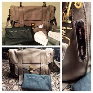 Proenza Schouler Bags - ✨PS1 Med leather smoke satchel✨❌SOLD❌