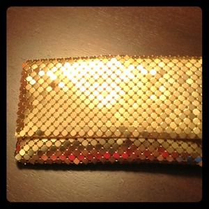 Gold purse/clutch