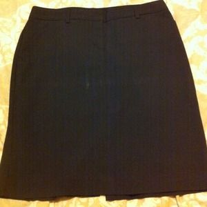 ⚡Price reduce⚡Express black pinstrip pencil skirt