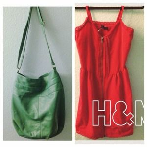 BUNDLE | h&m dress + purse