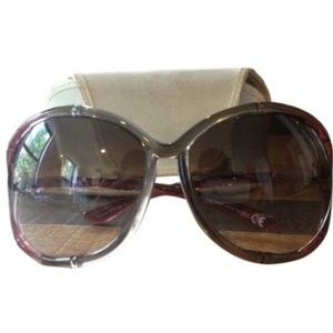 Tom Ford Accessories - 🎉HP🎉Tom Ford Oversized Degrade Bamboo sunglasses