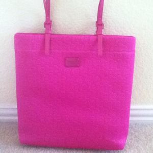 NOT AVAIL NWT Michael Kors Neoprene Fuschia  Tote