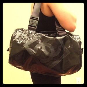 CHANEL Handbags - Authentic CHANEL sports bag