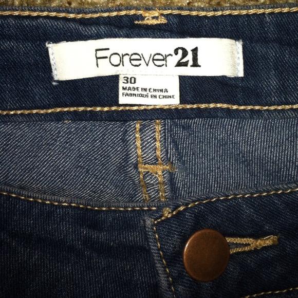25% off Forever 21 Denim - Forever 21 size 30 skinny jeans never ...
