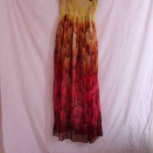 'Light as a feather' maxi dress