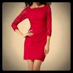 Cache Back zip lace dress: Size 0 NWT