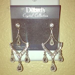 Crystal Collection Chandelier Earrings