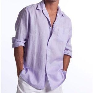 Men's Classic Linen Shirt