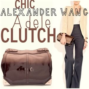 ✨NEW PHOTOS✨Alexander Wang Adele Ombré Clutch