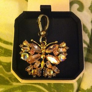 Juicy couture butterfly charm