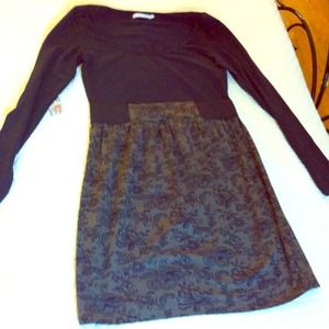 Dresses & Skirts - Faux Lace Dress